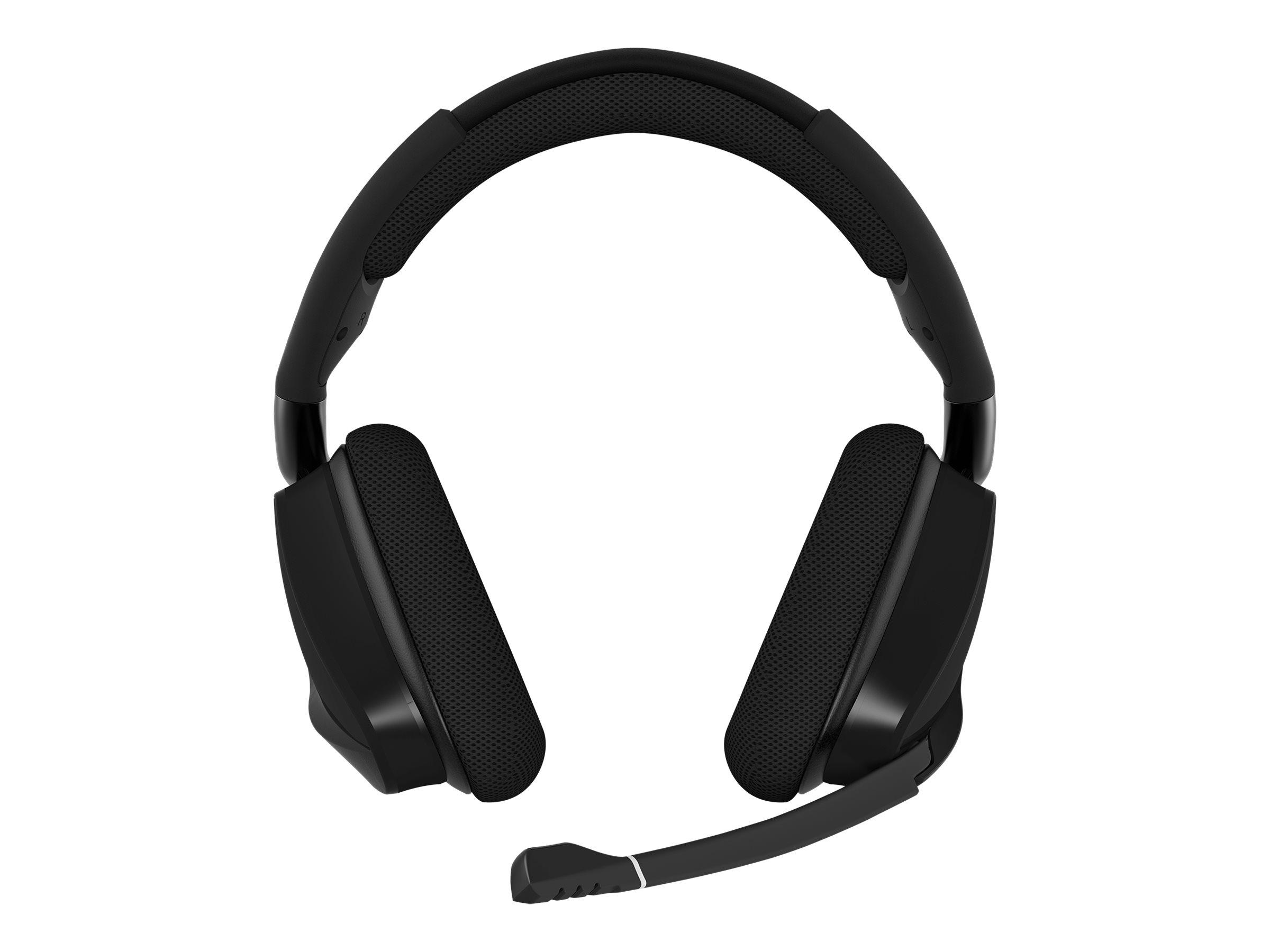 CORSAIR Gaming VOID PRO RGB - Headset - Full-Size - 2,4 GHz - kabellos - Carbon Black