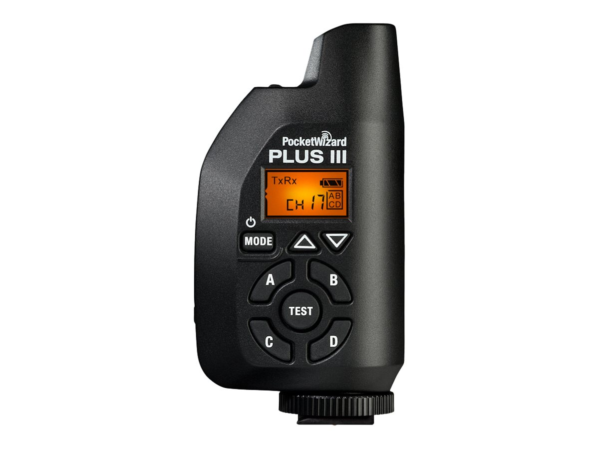 PocketWizard Plus III - Drahtloser Blitzsynchronisations-Transceiver