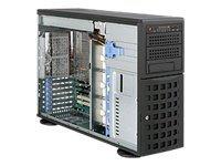 Supermicro SC745 TQ-R920B - Tower - 4U - Erweitertes ATX - SATA/SAS - Hot-Swap 920 Watt