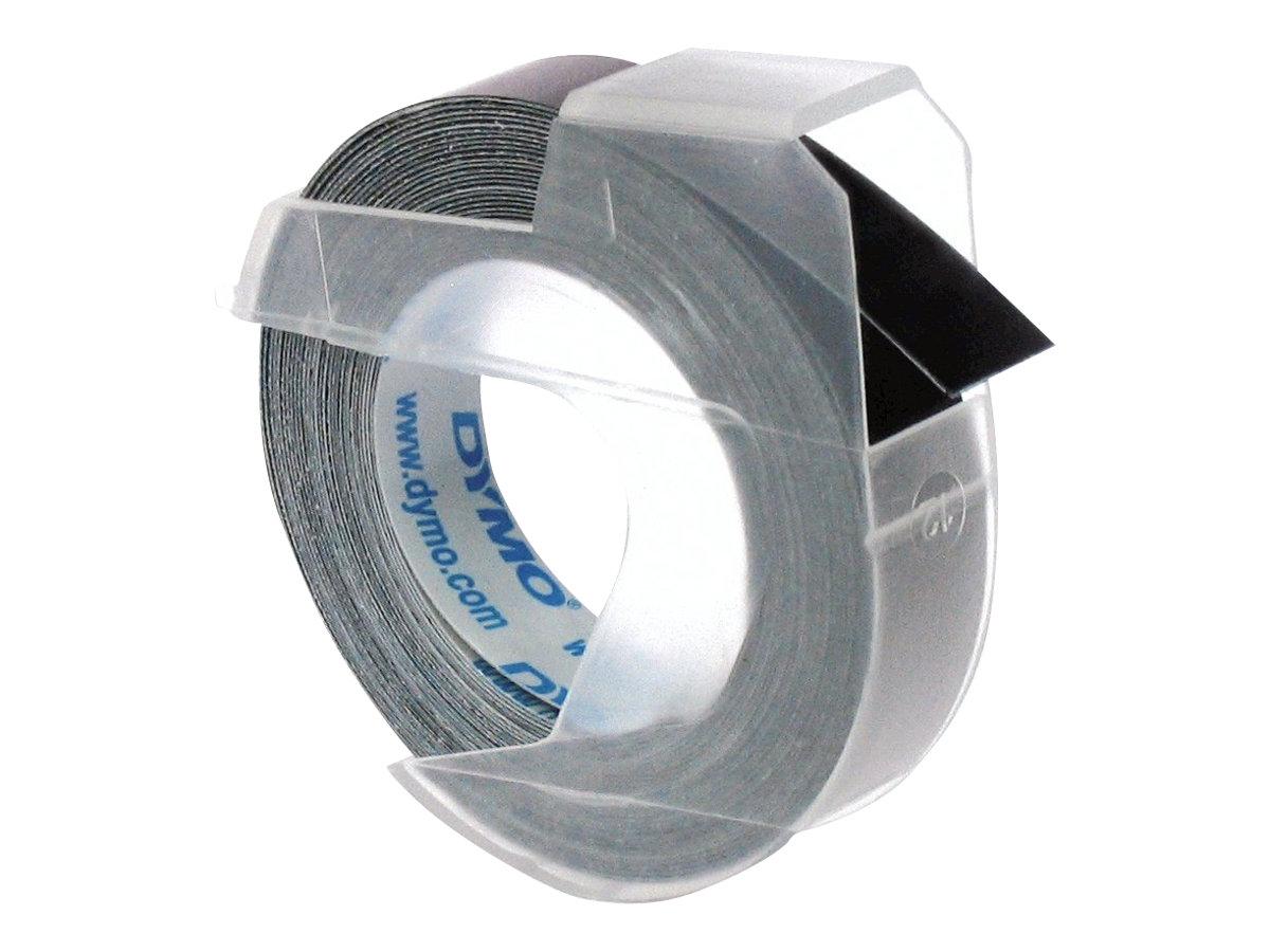 DYMO - Selbstklebend - Schwarz - Rolle (0,9 cm x 3 m) 1 Rolle(n) 3D-Prägeband - für DYMO Junior embosser