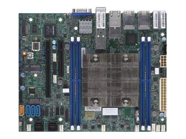 SUPERMICRO X11SDV-4C-TP8F - Motherboard - FlexATX - Intel Xeon D-2123IT - USB 3.0 - 4 x Gigabit LAN, 4 x 10 Gigabit LAN