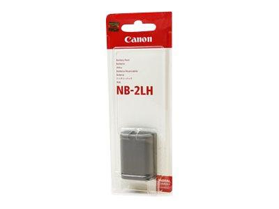 Canon NB-2LH - Kamera- / Camcorder-Batterie - Li-Ion - 720 mAh - für Canon ZR300, ZR400, ZR500, ZR600, ZR700, ZR800, ZR830, ZR85