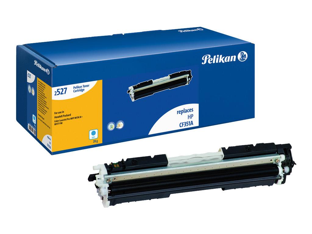 Pelikan 2527C - Cyan - Tonerpatrone (Alternative zu: HP 130A) - für HP Color LaserJet Pro MFP M176n, MFP M177fw