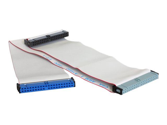 DeLOCK HDD Flat Ribbon - IDE-/EIDE-Kabel - IDC 40-polig (W) bis IDC 40-polig (W) - 45 cm
