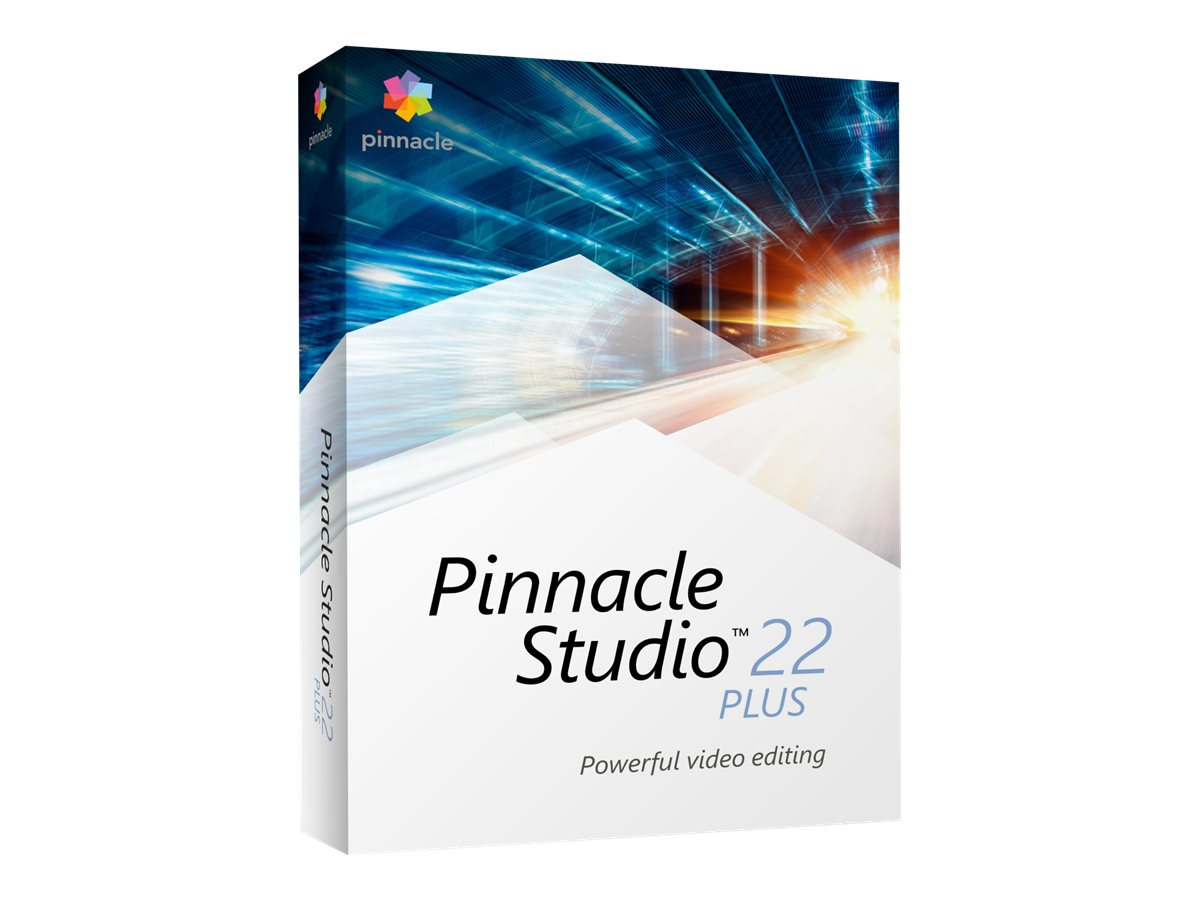 Pinnacle Studio Plus - (v. 22) - Box-Pack - 1 Benutzer - Win - Deutsch