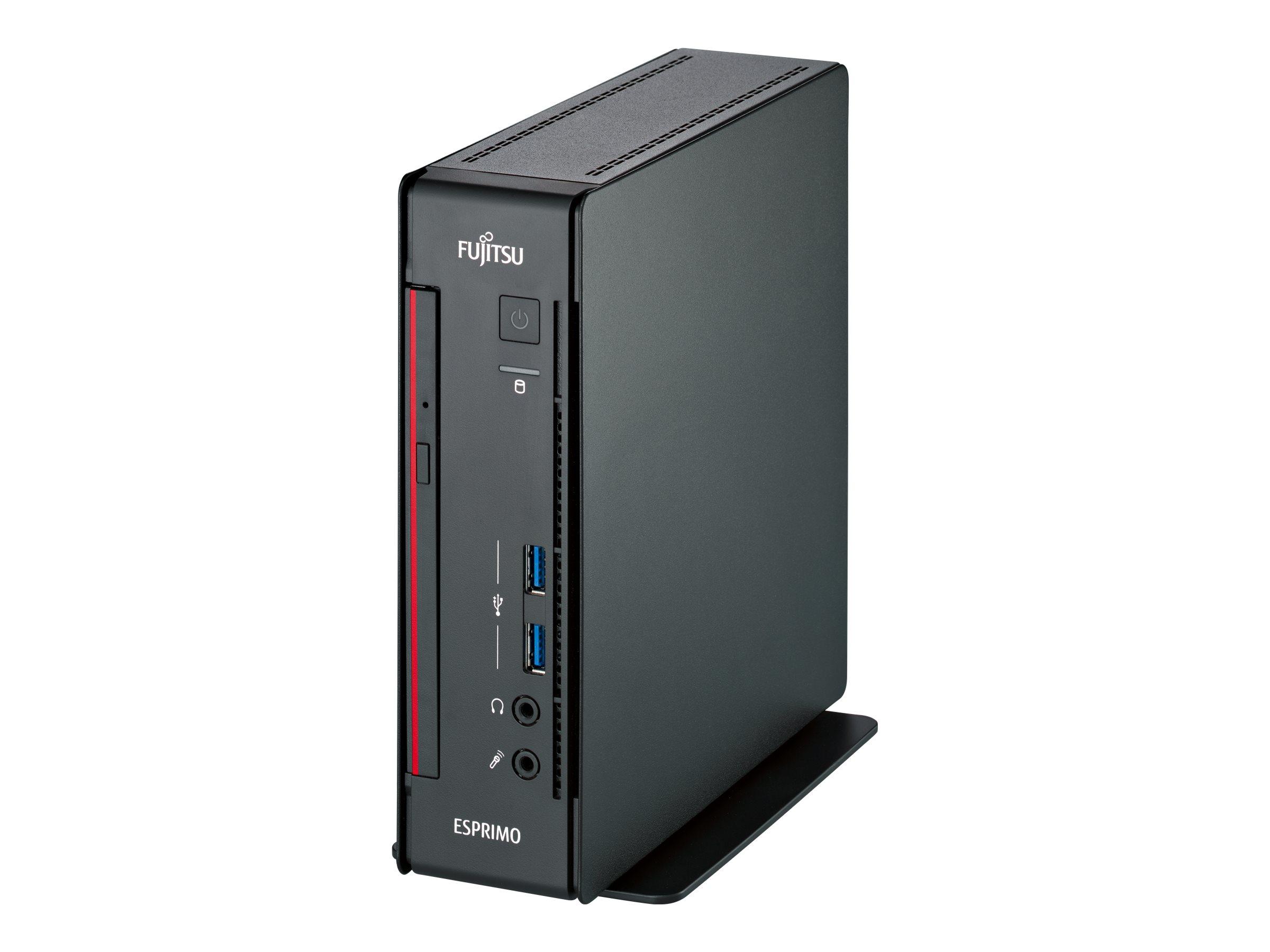 Fujitsu ESPRIMO Q958 - Mini-PC - Core i7 9700T / 2 GHz - RAM 16 GB - SSD 512 GB - NVMe