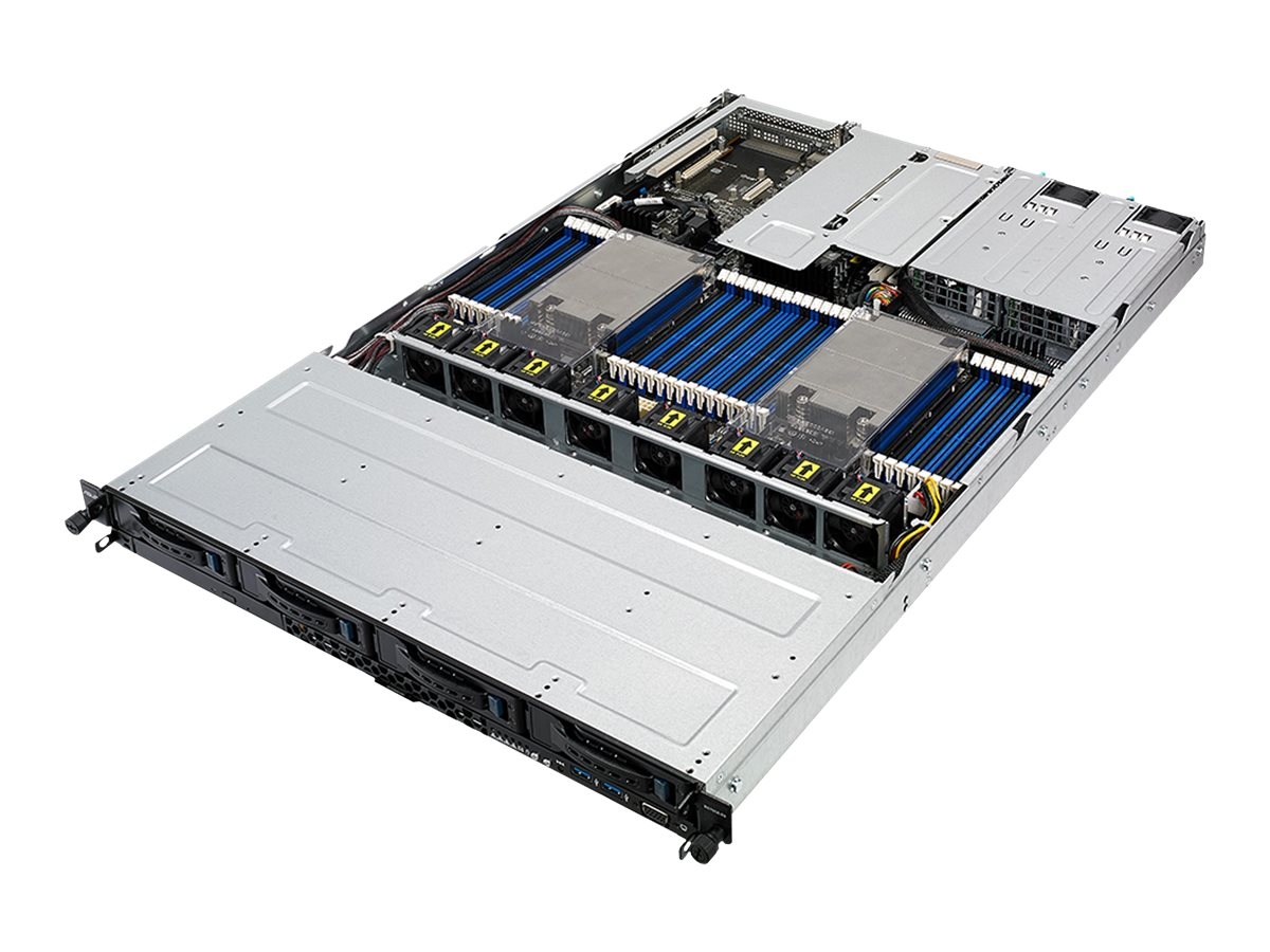 ASUS RS700A-E9-RS12V2 - Server - Rack-Montage - 1U - zweiweg - keine CPU