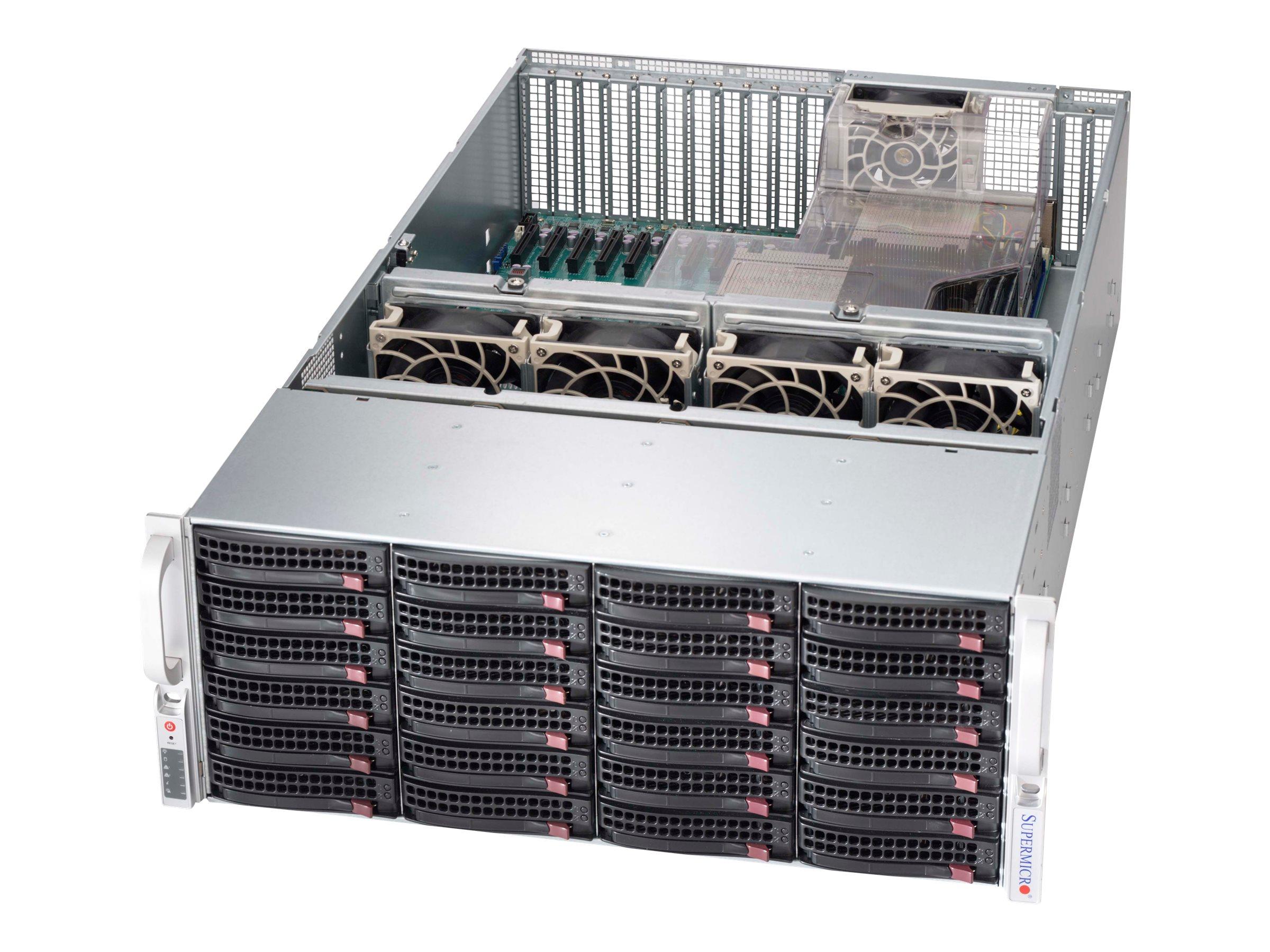 Supermicro SC846 XE2C-R1K23B - Rack - einbaufähig - 4U - Erweitertes ATX - SAS