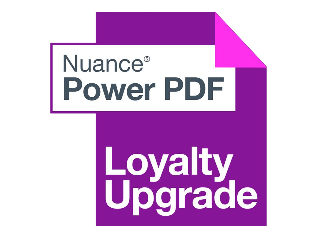 Nuance Power PDF Advanced - (v. 3) - Lizenz - 1 Benutzer - Loyalty - Stufe G (1000-2499)