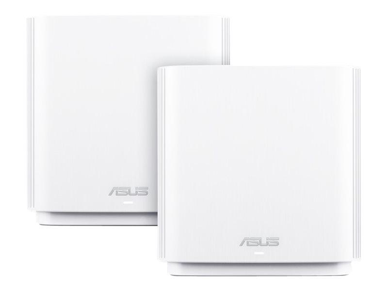 ASUS ZenWiFi AC (CT8) - WLAN-System (2 Router) - bis zu 500 qm - Netz - GigE - 802.11a/b/g/n/ac