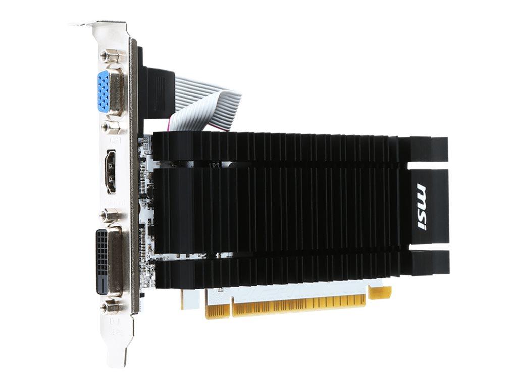 MSI N730-2GD3 - Grafikkarten - GF GT 730 - 2 GB DDR3 - PCIe 2.0 x16 - DVI, D-Sub, HDMI