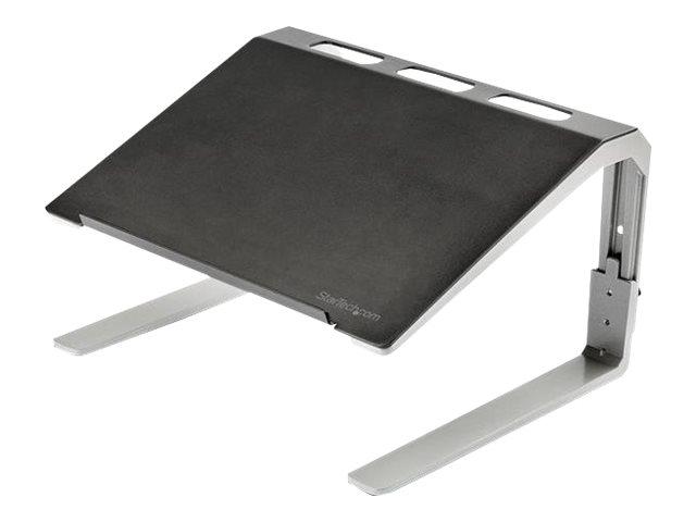 StarTech.com LTSTND Laptoperhohung (verstellbarer Laptopstander, hochbelastbarer Stahl & Aluminium, 3 Hoheneinstellungen, neigba