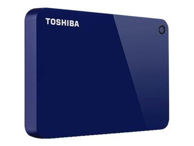 Toshiba Canvio Advance - Festplatte - 1 TB - extern (tragbar) - USB 3.0 - Klavierlackoptik weiss