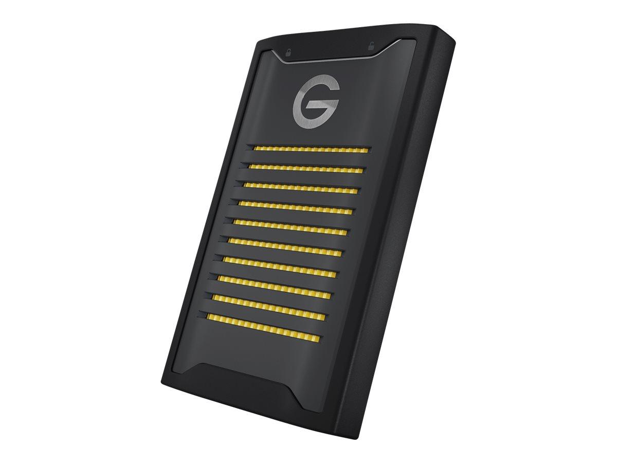 G-Technology ArmorLock - Solid-State-Disk - verschlüsselt - 2 TB - extern (tragbar) - USB 3.2 Gen 2 (USB-C Steckverbinder)