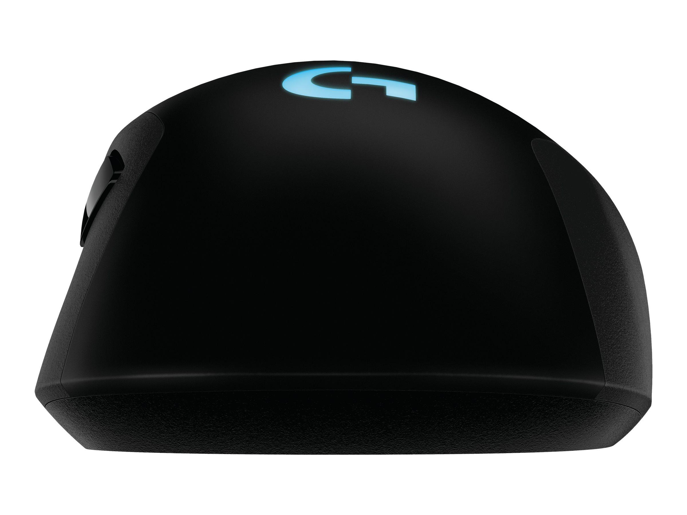 Logitech Gaming Mouse G703 - Maus - optisch - 6 Tasten - kabellos, kabelgebunden - 2.4 GHz