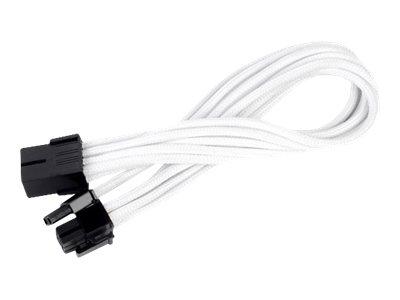 SilverStone PP07 - Spannungsversorgungs-Verlängerungskabel - 8-poliger PCIe Power (6+2) (W) bis 8-poliger PCIe Power (M) - 25 cm