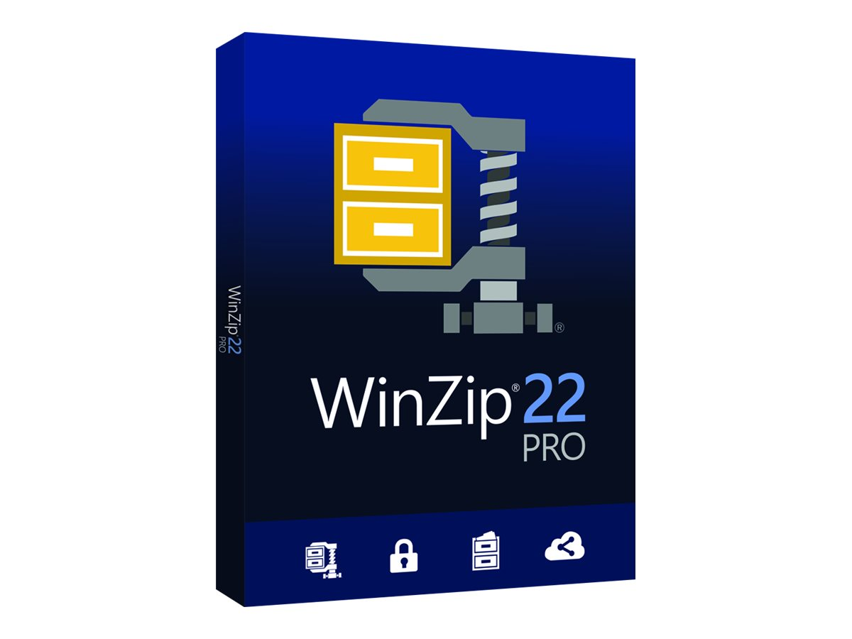 WinZip Pro - (v. 22) - Box-Pack - 1 Benutzer - DVD - Win