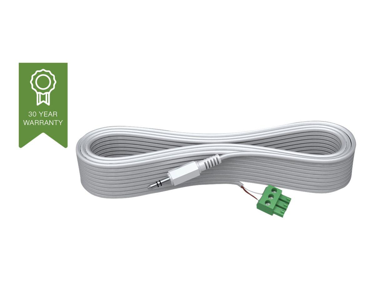 VISION Techconnect 2 - Audiokabel - ohne Stecker bis Stereo Mini-Klinkenstecker männlich - 20 m - geformt