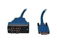 Cisco - V.35-Kabel (DTE) - Smart Serial (M) bis M/34 (V.35) (M) - 3 m - Blau - für Cisco 1700, 1720, 805, AS5300