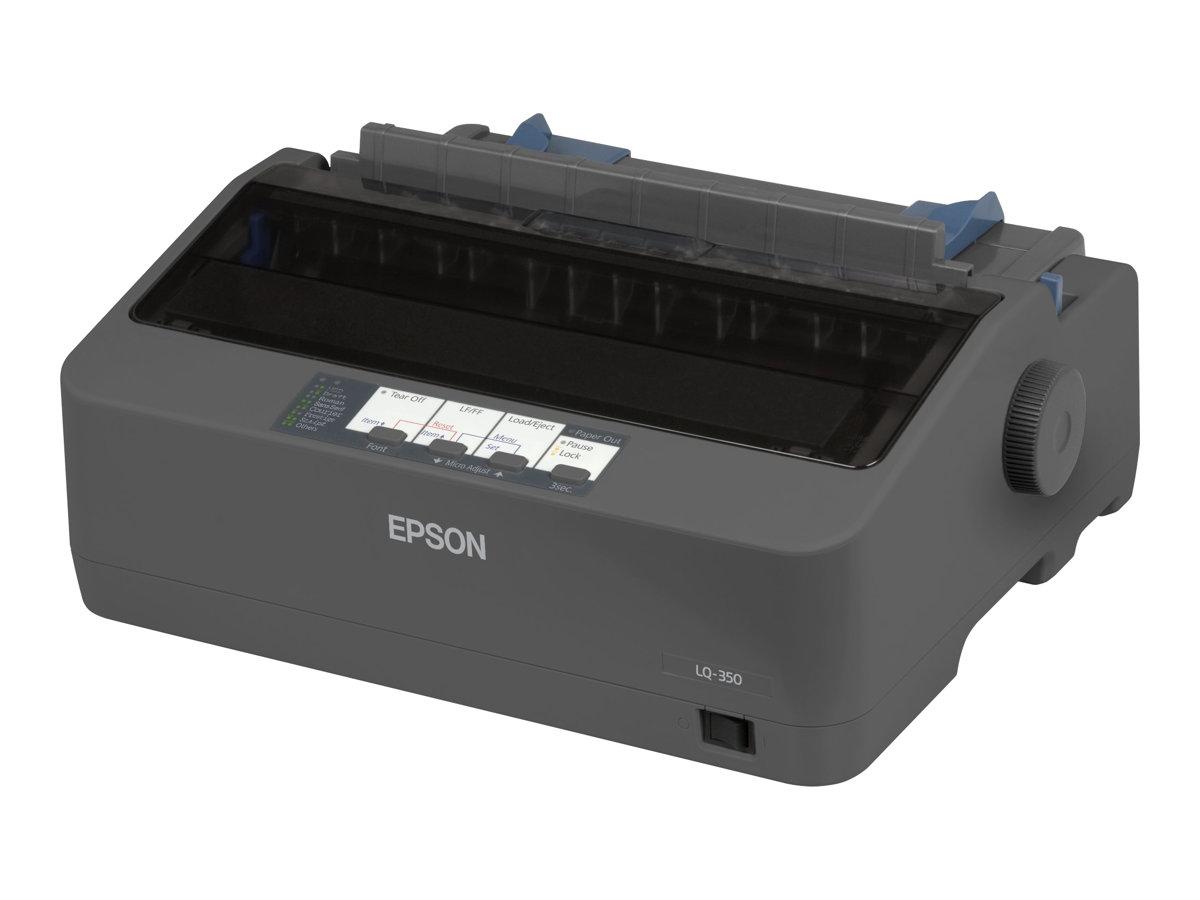 Epson LQ 350 - Drucker - monochrom - Punktmatrix - 24 Pin - bis zu 347 Zeichen/Sek.