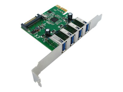 VALUE - USB-Adapter - PCIe 2.0 Low-Profile - USB 3.0 x 4