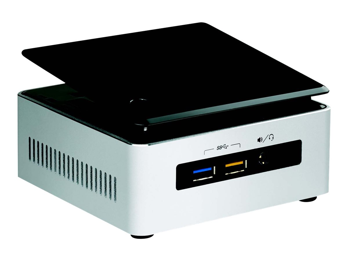 Intel Next Unit of Computing Kit NUC5i3RYHSN - Mini-PC - 1 x Core i3 5005U / 2 GHz - RAM 4 GB - HDD 1 TB - HD Graphics 5500
