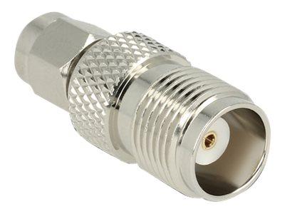 DeLOCK Adapter SMA Plug -> TNC Jack - Antennenadapter - SMA (W) bis TNC (M)