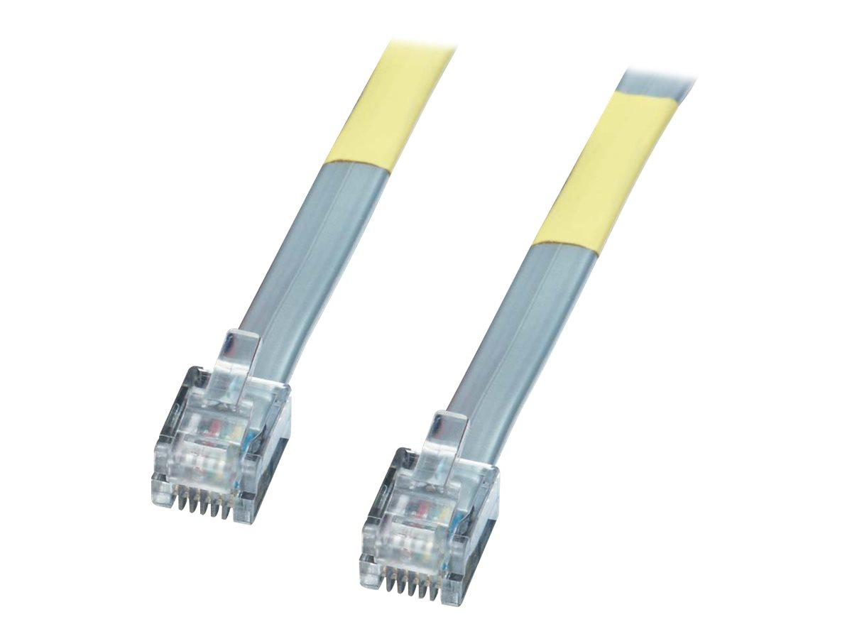 Lindy - Telefonkabel - RJ-12 (M) bis RJ-12 (M) - 3 m