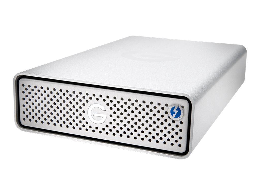 G-Technology G-DRIVE - Festplatte - 10 TB - extern (Stationär) - USB 3.1 Gen 1 / Thunderbolt 3 (USB-C Steckverbinder) - 7200 rpm