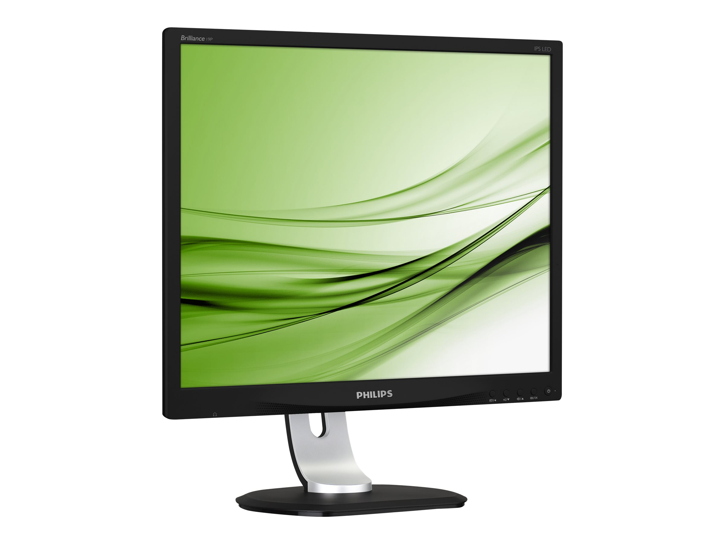 Philips Brilliance P-line 19P4QYEB - LED-Monitor - 48.3 cm (19