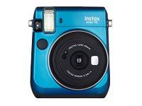 Fujifilm Instax Mini 70 - Instant Kamera - Objektiv: 60 mm Blau