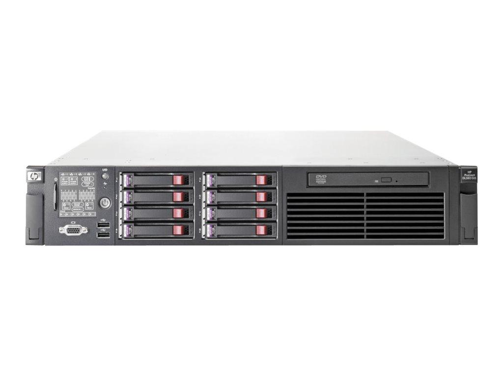 HPE ProLiant DL380 G6 - Server - Rack-Montage - 2U - zweiweg - 1 x Xeon E5520 / 2.26 GHz