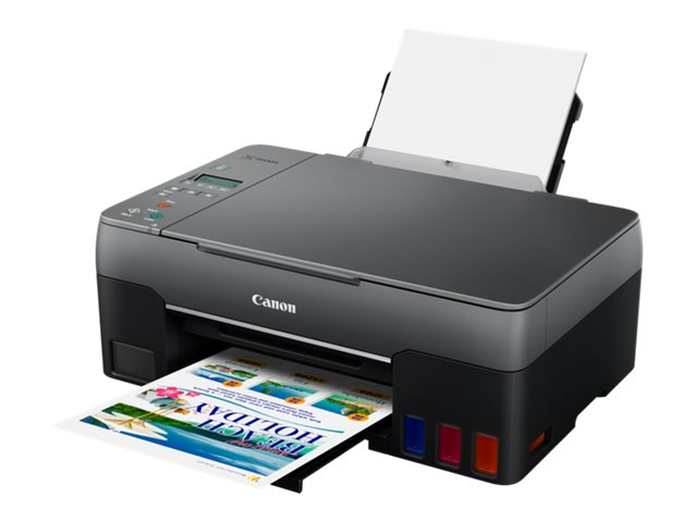 Canon PIXMA G2560 - Multifunktionsdrucker - Farbe - Tintenstrahl - refillable - A4 (210 x 297 mm), Letter A (216 x 279 mm) (Orig