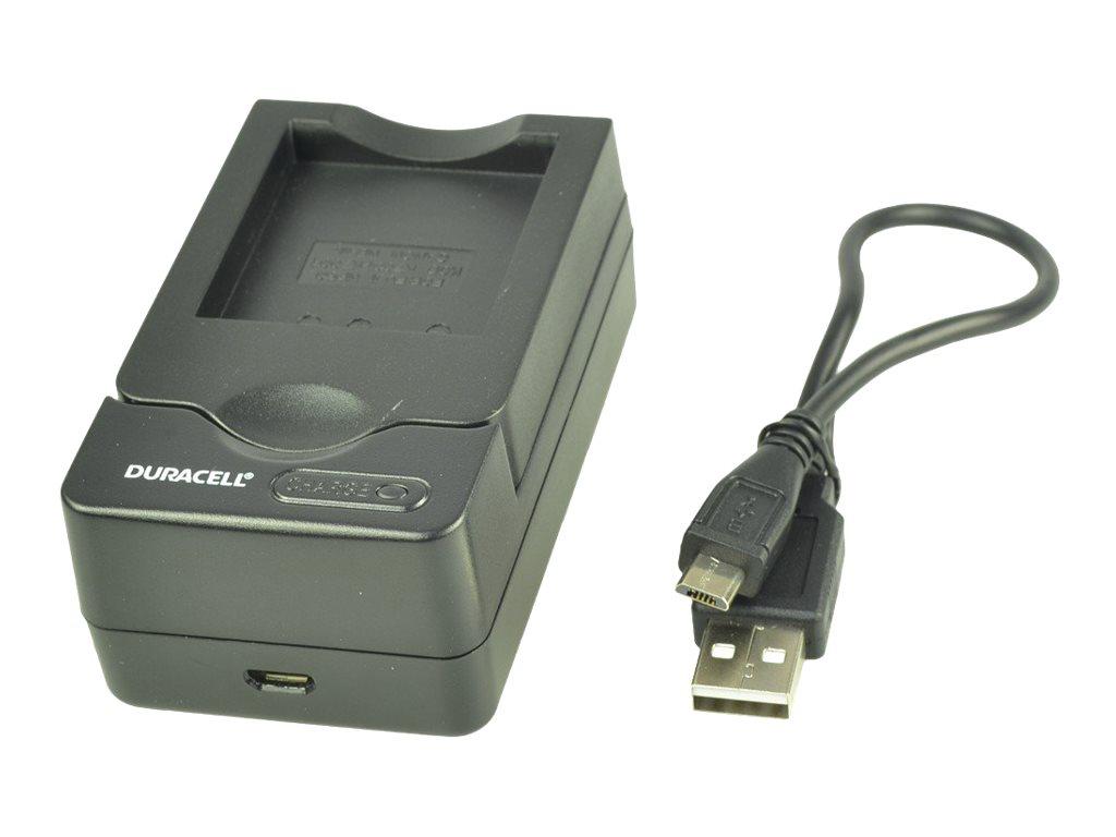 Duracell - Batterieladegerät - für Panasonic DMW-BM7; CGA-S002, S002A, S002A/1, S002A/1B, S002E/1B, S002E/1C, S002E/1HH
