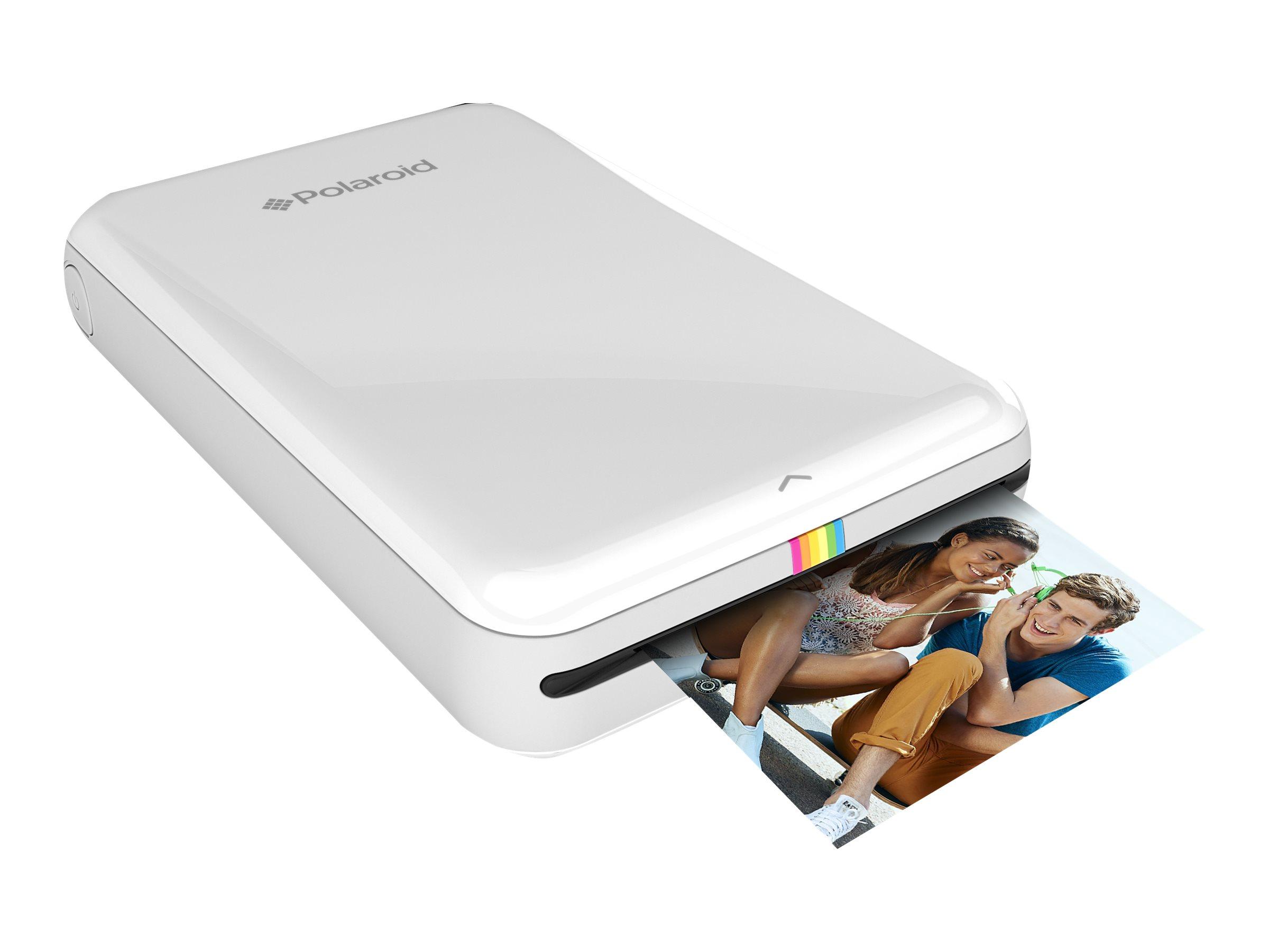 Polaroid ZIP Mobile Printer - Drucker - Farbe - Thermopapier - 50.8 x 76.2 mm bis zu 1 Min./Seite (Farbe) - Bluetooth, NFC