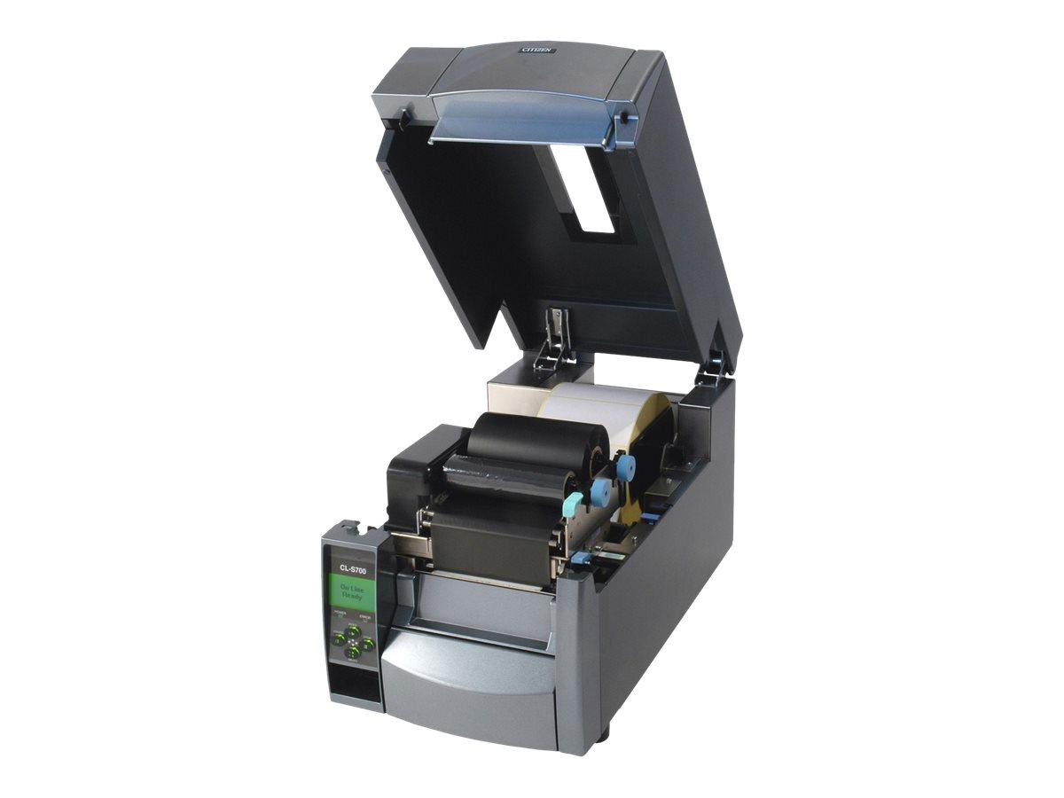 Citizen CL-S703II - Etikettendrucker - Thermodirekt / Thermotransfer - Rolle (11,8 cm) - 300 dpi - bis zu 200 mm/Sek.