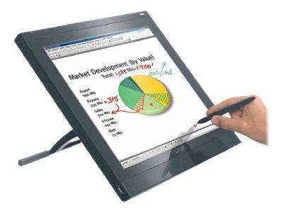 Wacom PL 720 - Digitalisierer mit LCD Anzeige - 33.8 x 27 cm - elektromagnetisch - kabelgebunden - USB