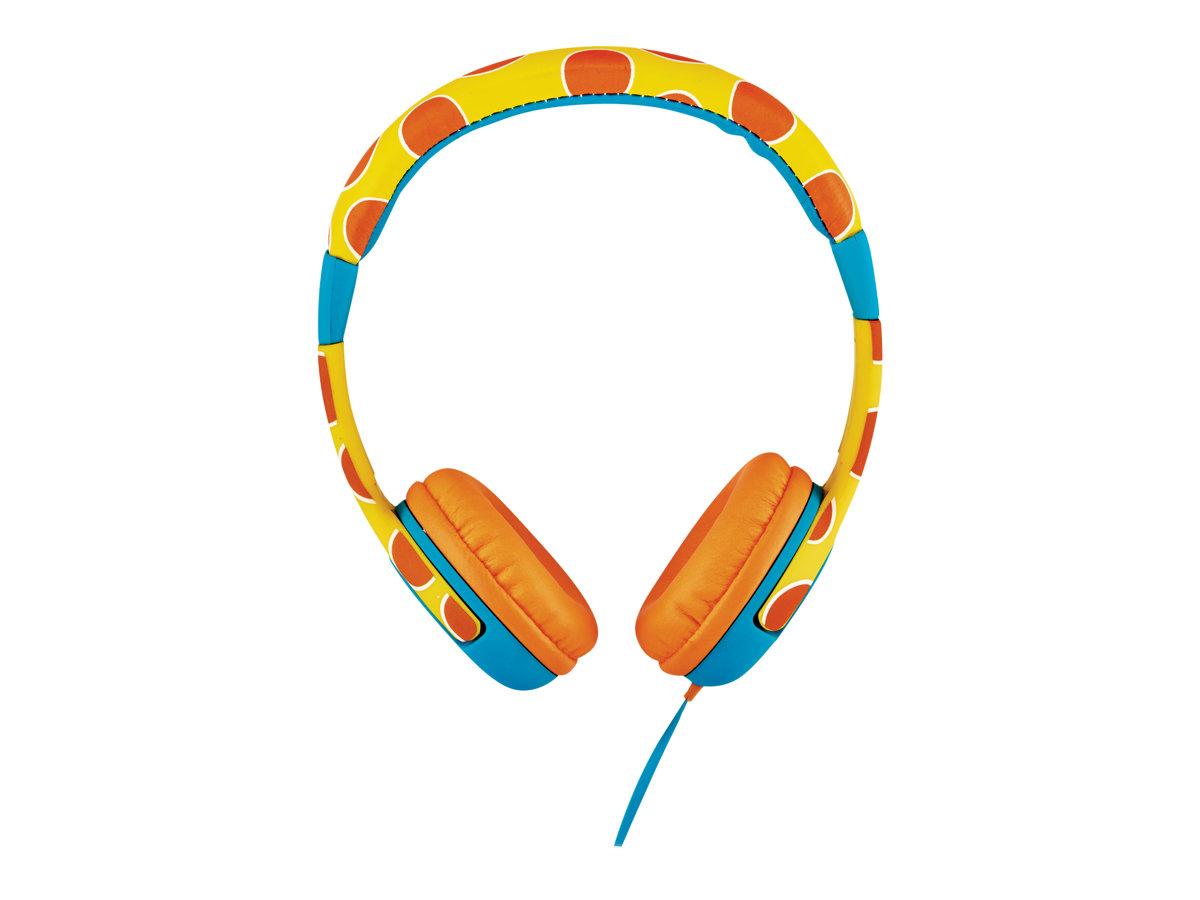 Trust Urban Spila - Kopfhörer - On-Ear - kabelgebunden - 3,5 mm Stecker - Giraffe