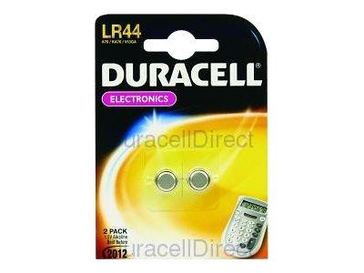 Duracell LR44 - Batterie 2 x LR44 Alkalisch 150 mAh