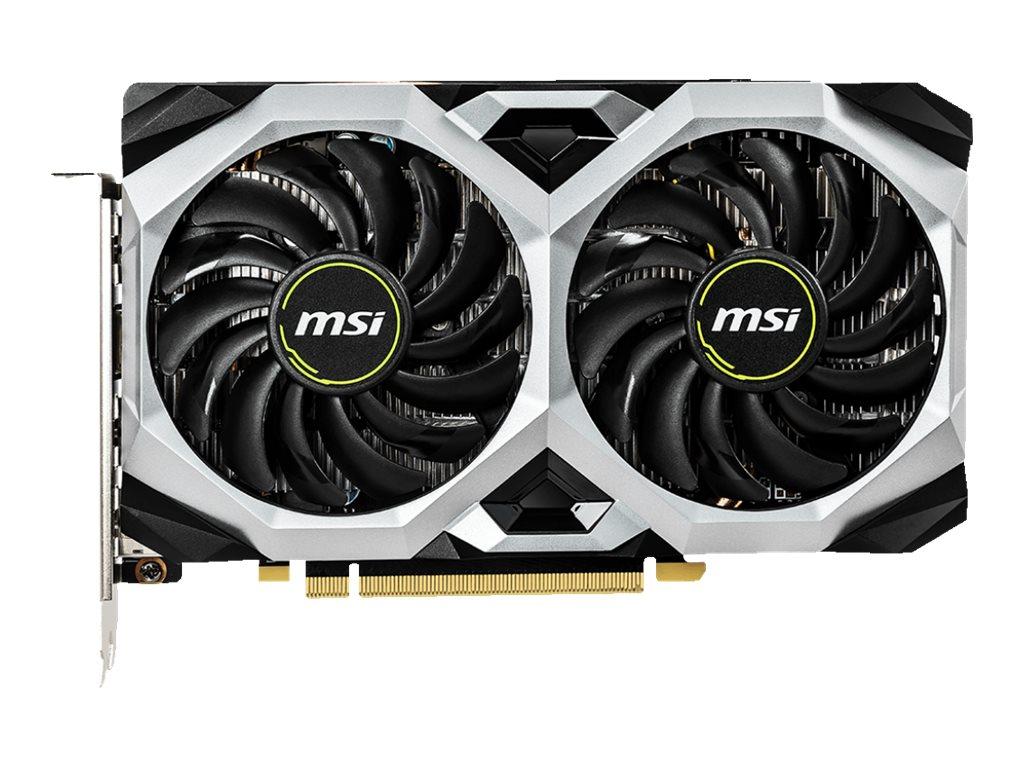 MSI GTX 1660 Ti VENTUS XS 6G OC - Grafikkarten - GF GTX 1660 Ti - 6 GB GDDR6 - PCIe 3.0 x16 - HDMI, 3 x DisplayPort
