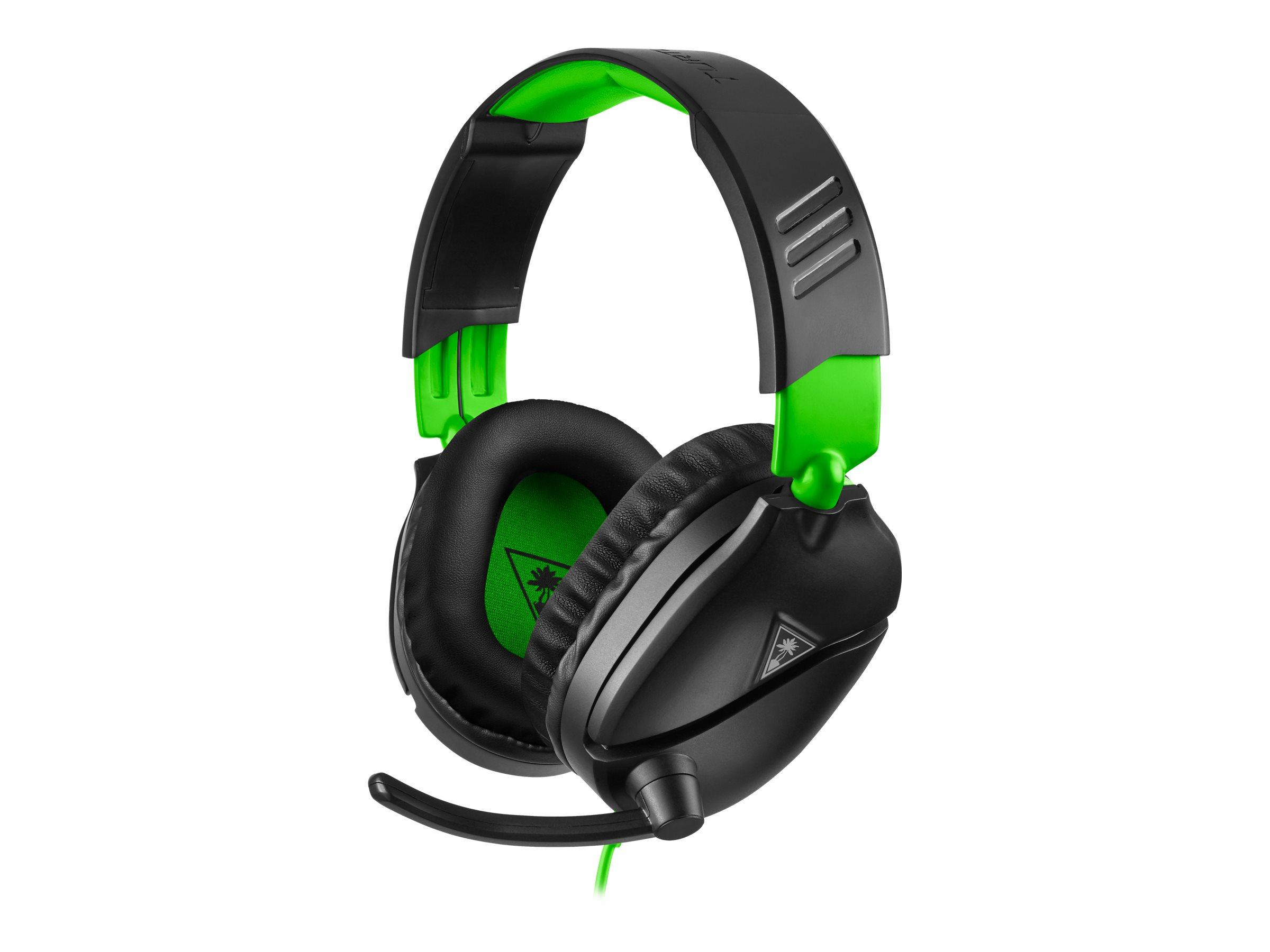 Turtle Beach RECON 70X - Headset - ohrumschliessend - kabelgebunden - 3,5 mm Stecker - Geräuschisolierung