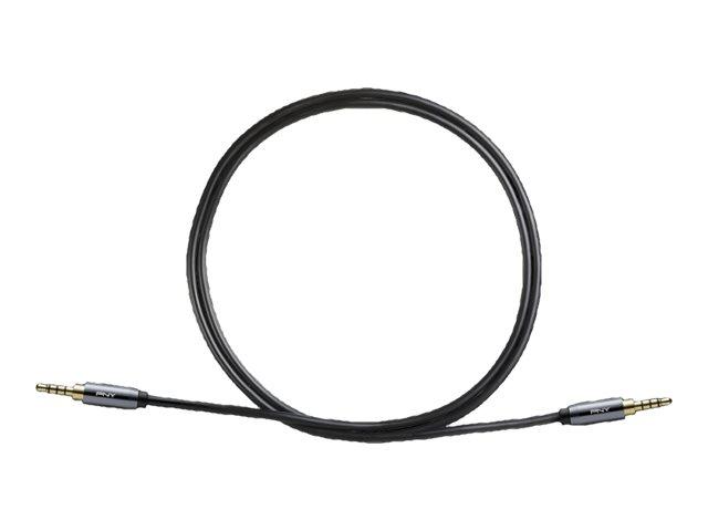 PNY - Audiokabel - Mini-Stecker (M) bis Mini-Stecker (M) - 1 m