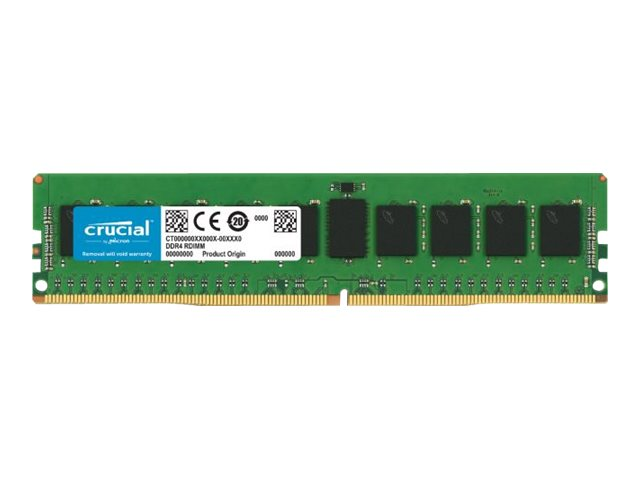 Crucial - DDR4 - 32 GB - DIMM 288-PIN - 2933 MHz / PC4-23400 - CL21