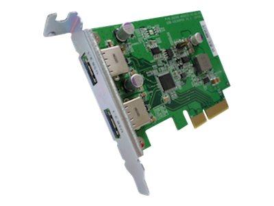 QNAP USB-U31A2P01 - USB-Adapter - PCIe Low-Profile - USB 3.1 Gen 2 x 2