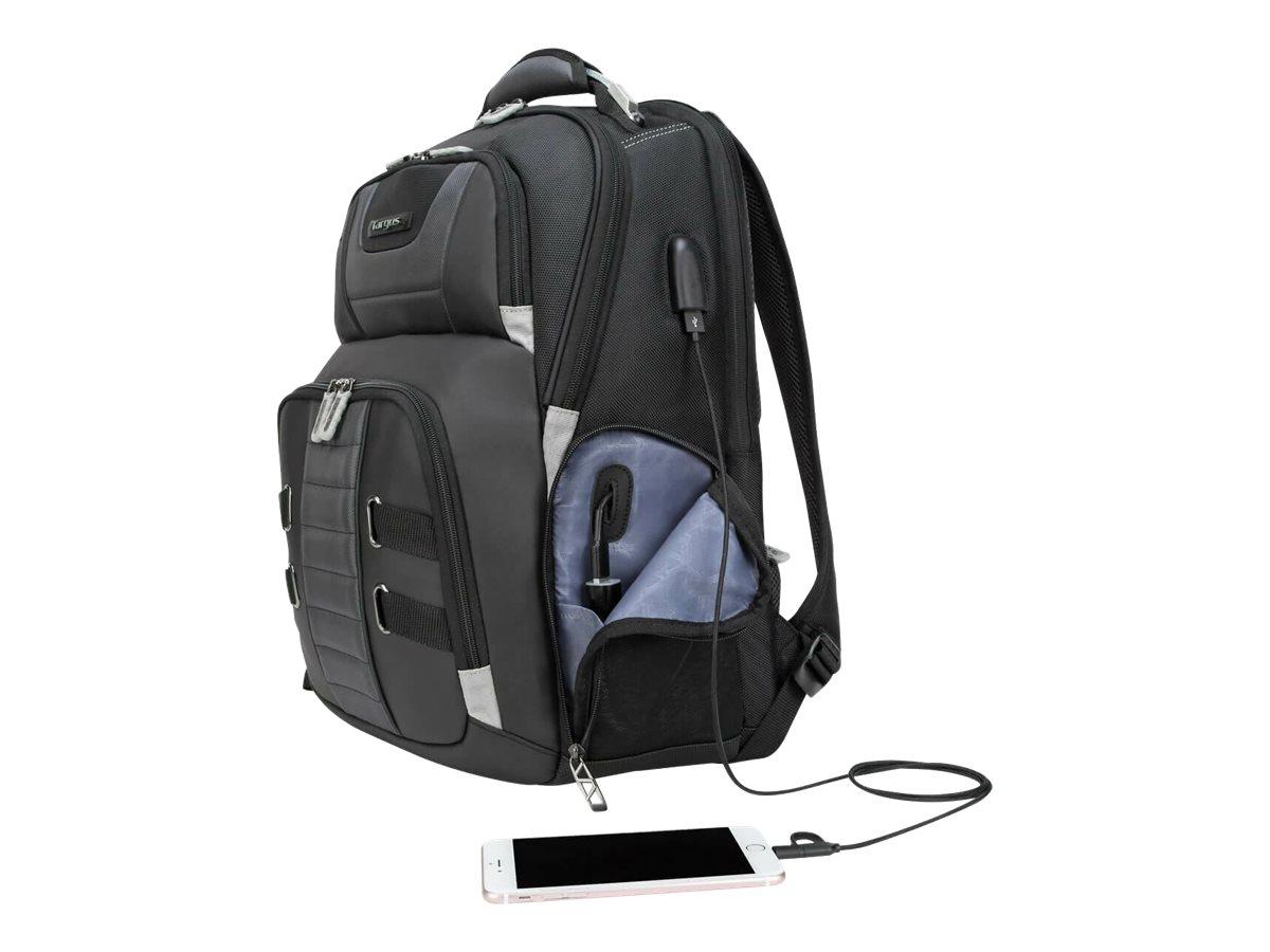 Targus DrifterTrek with USB Power Pass-Thru - Notebook-Rucksack - 43.9 cm - 15.6