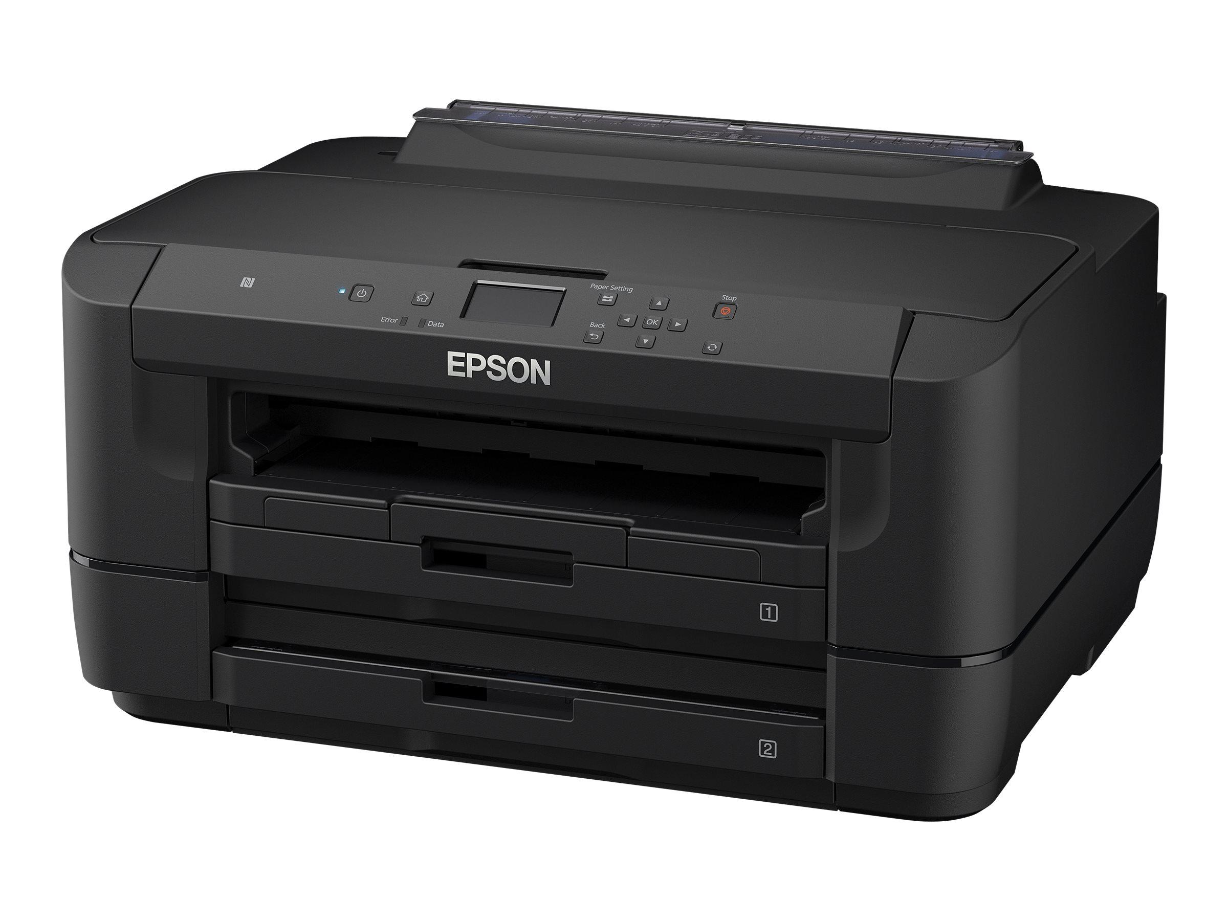 Epson WorkForce WF-7210DTW - Drucker - Farbe - Duplex - Tintenstrahl - A3