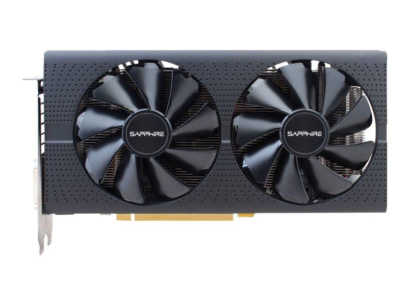 Sapphire Pulse Radeon RX 570 - Grafikkarten - Radeon RX 570 - 8 GB GDDR5 - PCIe 3.0 x16 - DVI, 2 x HDMI, 2 x DisplayPort