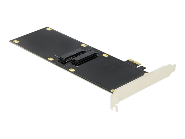 DeLOCK PCI Express x1 Card for 2 x SATA HDD / SSD - Speicher-Controller - 2 Sender/Kanal - SATA 6Gb/s - 600 MBps - PCIe 2.0 x1