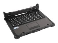 Getac - Tastatur - mit Touchpad - hintergrundbeleuchtet - Dock - USA International