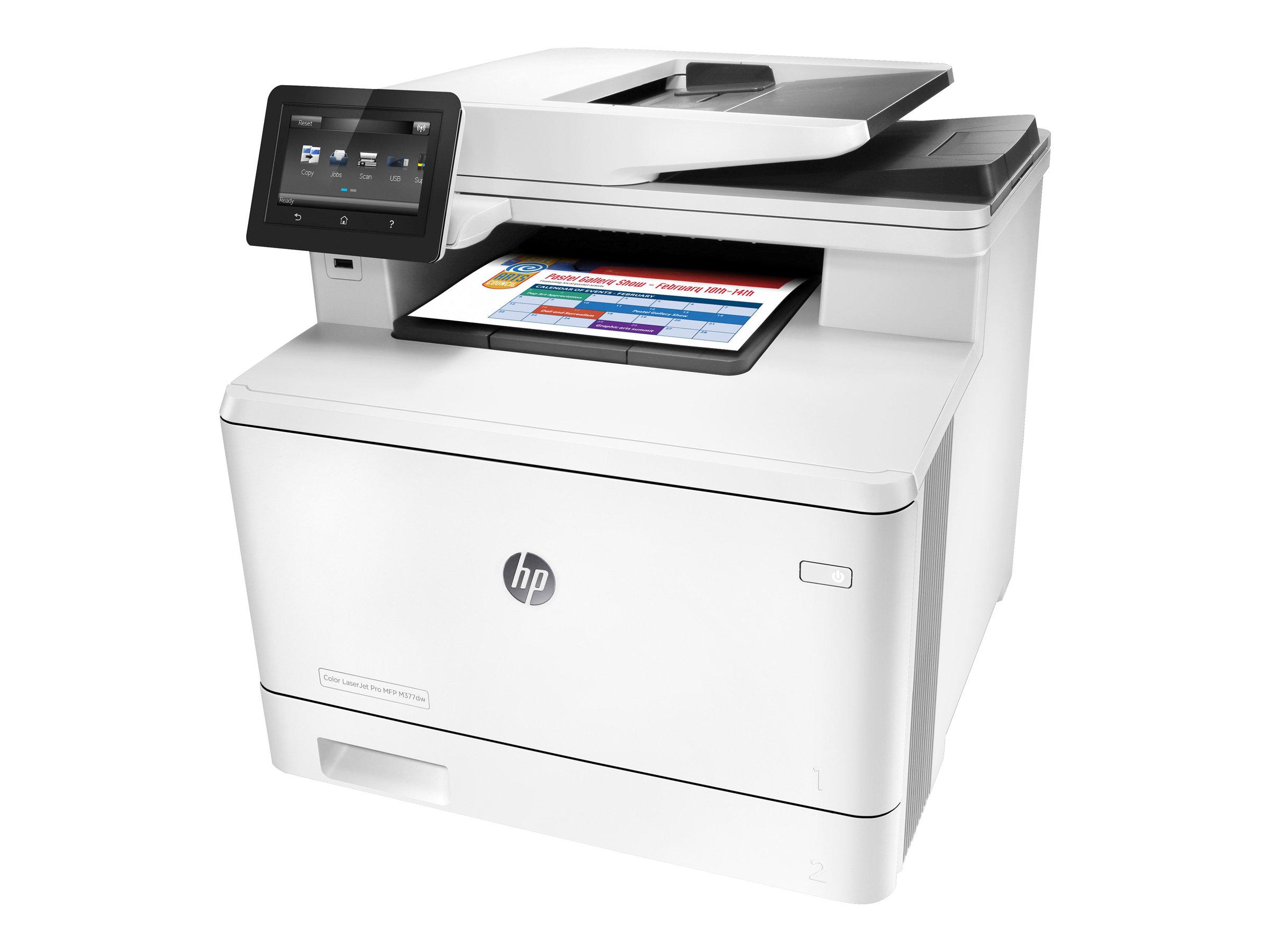 HP Color LaserJet Pro MFP M377dw - Multifunktionsdrucker - Farbe - Laser - Legal (216 x 356 mm) (Original) - A4/Legal (Medien)